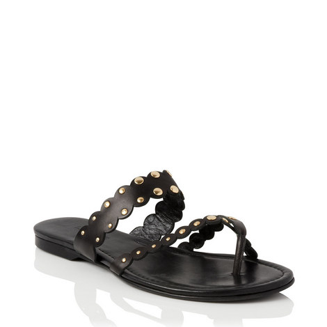 Allure Flat Sandals, ${color}