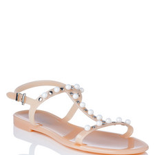 Freja Embellished Jelly Sandals