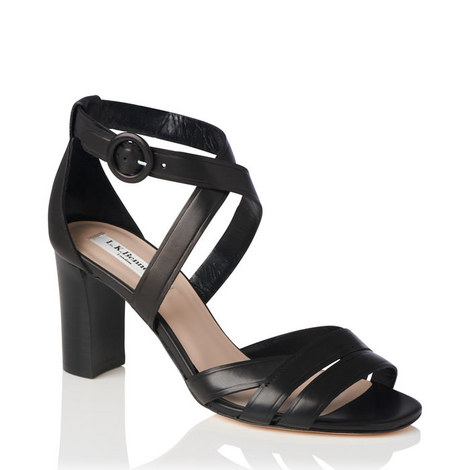 Clover Block Heel Sandals, ${color}