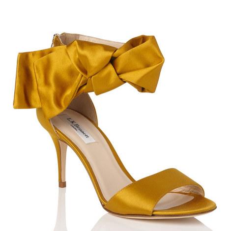Agata Satin Sandals, ${color}