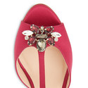 Yvette Satin Sandals, ${color}
