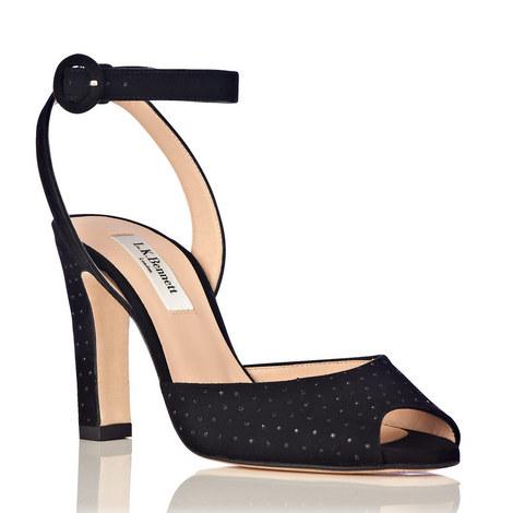 Sansa Suede High Heel Sandals, ${color}