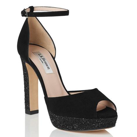 Selina Peep Toe Platforms, ${color}