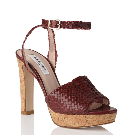 Margot Woven Leather Sandals, ${color}