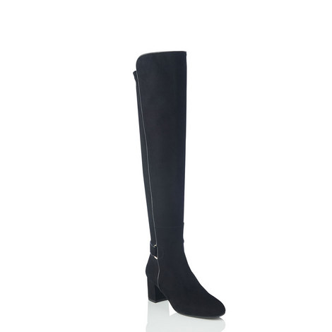 Amba Stretch Knee-High Boots, ${color}
