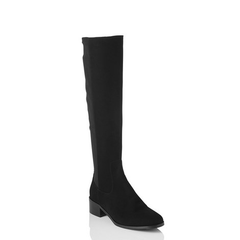 Bella Stretch Knee-High Boots, ${color}