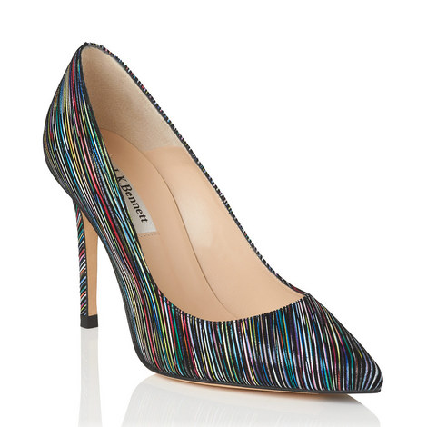 Fern Striped Pointed Courts, ${color}