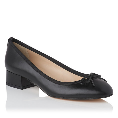 Danielle Block Heel Ballet Pumps, ${color}