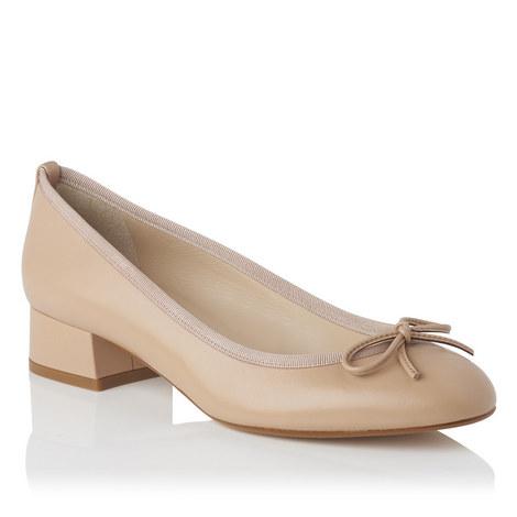 Danielle Block Heel Ballet Pumps, ${color}