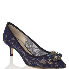 Juliet Rhinestone Lace Courts