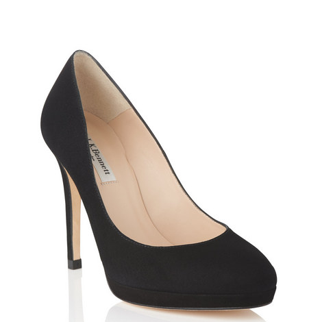 Sledge Round Toe Pumps, ${color}