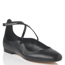 Nessie Crossover Ballet Flats