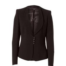 Tailored Shawl Collar Blazer