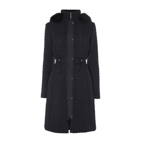 Longline Padded Coat, ${color}