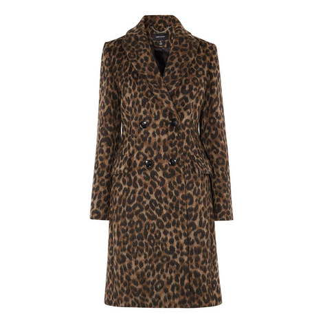 Leopard Print Coat, ${color}