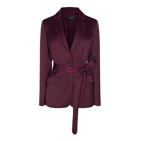 Languid Sash Tie Blazer, ${color}