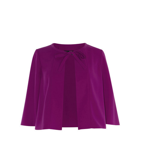 Cape Short Jacket, ${color}