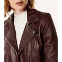 Signature Leather Biker Jacket, ${color}