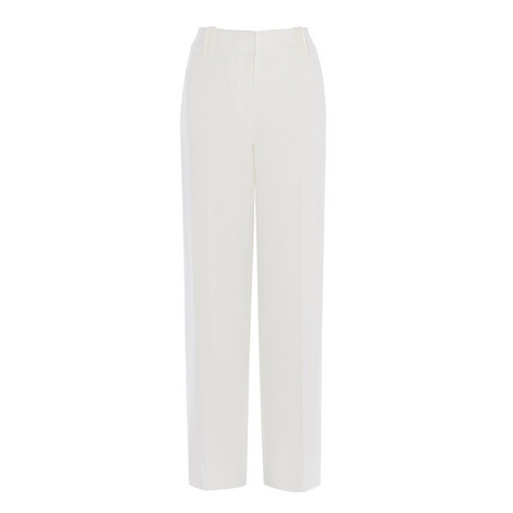 Fluid Tailoring Palazzo Trousers, ${color}