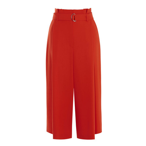 Paperbag Waist Trousers, ${color}