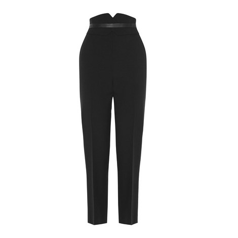 Tailored High Waist Trousers, ${color}