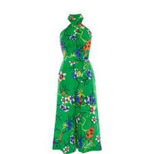 Floral Halter neck Jumpsuit