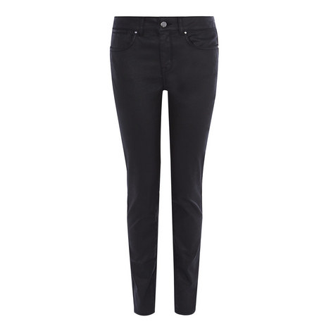 Coated Skinny Jeans, ${color}