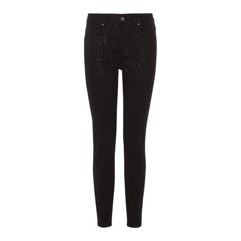 Shimmer Skinny Jeans, ${color}