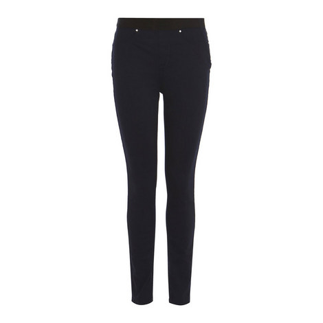Stretch Denim Jeggings, ${color}