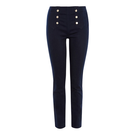 Buttoned Skinny Jeans, ${color}
