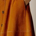 Faux Suede Midi Skirt, ${color}