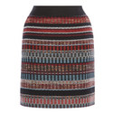 Woven Tweed Skirt, ${color}