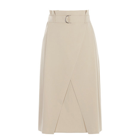 D-Ring Wrap Skirt, ${color}