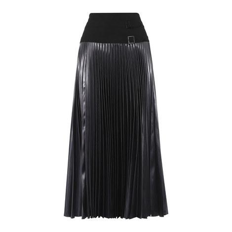 Pleated Kilt Skirt, ${color}