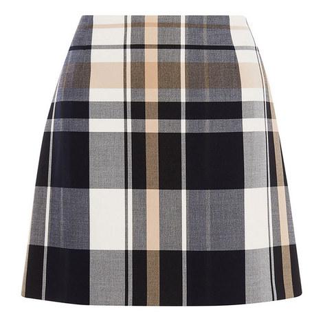 Tartan Mini Skirt, ${color}