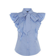 Pussybow Frilled Shirt