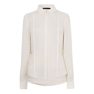 8efc11c8a2cead Sale KAREN MILLEN Additional 20% off applied Pleated Blouse Now €48.00. Was  €125.00