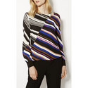 Spliced Stripe Top, ${color}