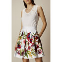 Floral Lace Tank Top, ${color}