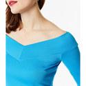 Angled Bardot Top, ${color}