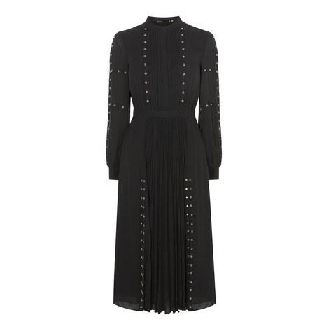 Studded Shirt Dress, ${color}