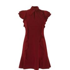 Ruffled Drop Waist Dress