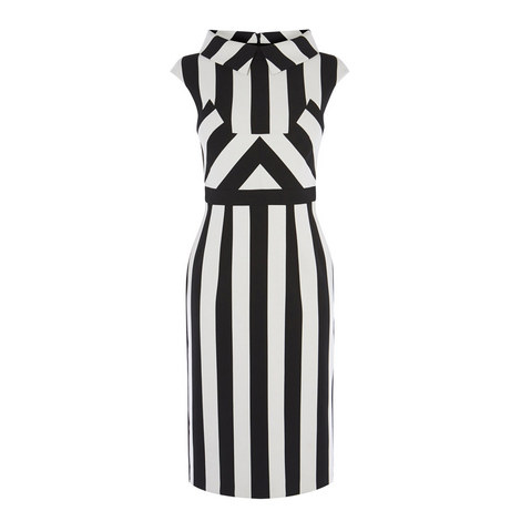 Tailored Monochrome Dress, ${color}