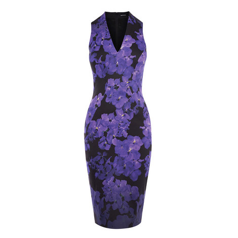 Floral Bodycon Dress, ${color}