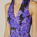 Floral Bodycon Dress, ${color}