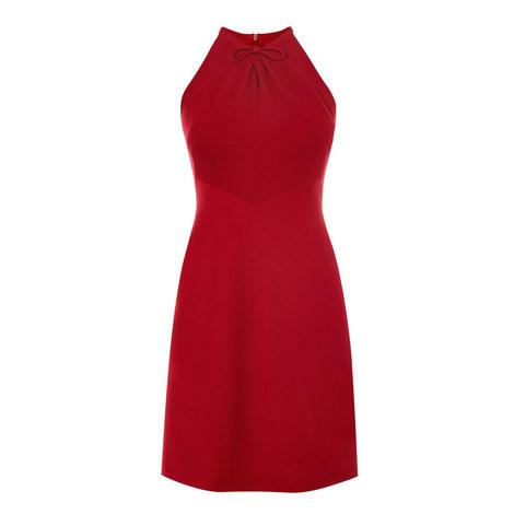 Halter Neck Dress, ${color}