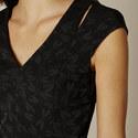 Jacquard Dragonfly Dress, ${color}