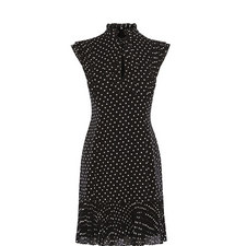Polka Dot Frill Dress
