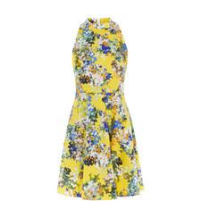 Blossom Halter Neck Dress