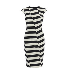 Block Stripe Pencil Dress